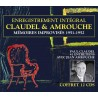 PAUL CLAUDEL & JEAN AMROUCHE (12 CD)