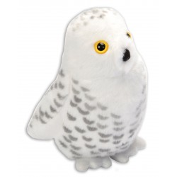 Peluche sonore harfang des neiges