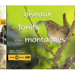 Double CD oiseaux des forêts et des montagnes