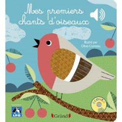Mes premiers chants d'oiseaux (livre à puces)