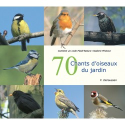 CD 70 songs of birds from the garden