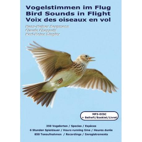Voix des Oiseaux en vol (CD MP3+livret 124 pages)