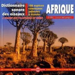 Dictionnaire sonore : Oiseaux d'Afrique (2 CD)