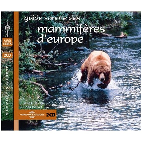 Double CD Mammifères d'Europe