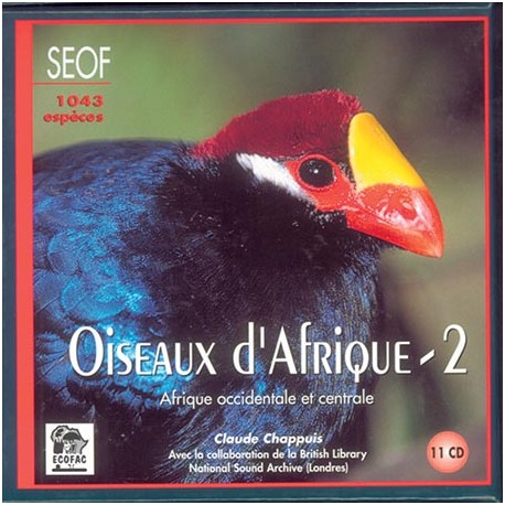 CD Coffret 11 CD Oiseaux d'Afrique Vol.2