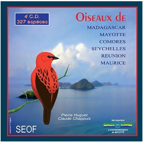 CD Coffret 4 CD Oiseaux de Madagascar
