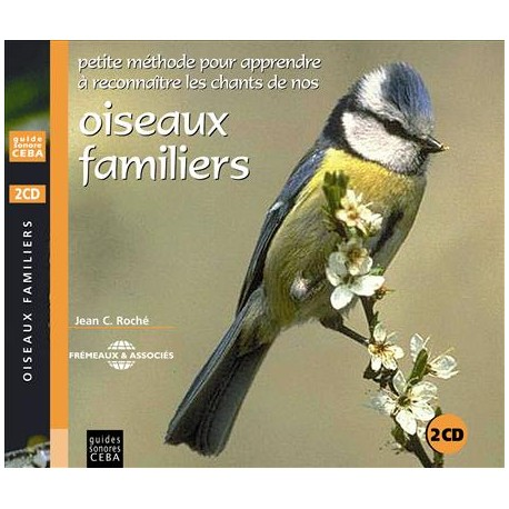 Double CD oiseaux familiers (2 CD)