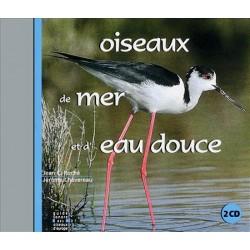 Double CD oiseaux de mer et d'eau douce (2 CD)