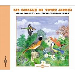 CD oiseaux de votre jardin