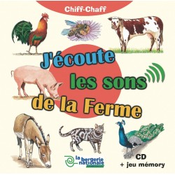 CD J'écoute les sons de la ferme