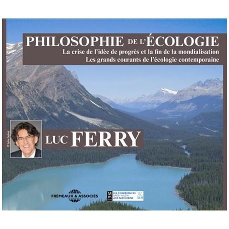 Philosophie de l'écologie - Luc Ferry (Coffret 2 CD)