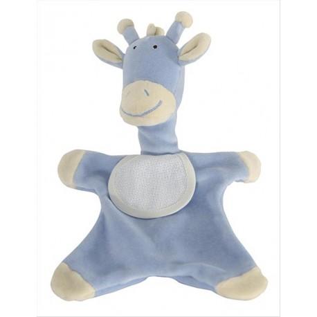 Doudou Girafon Bleu à broder