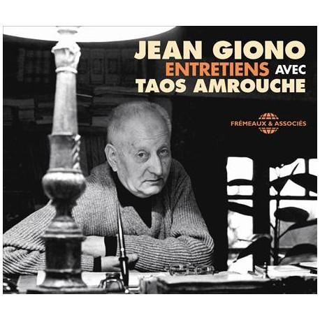 JEAN GIONO ENTRETIENS AVEC TAOS AMROUCHE (4 CD)