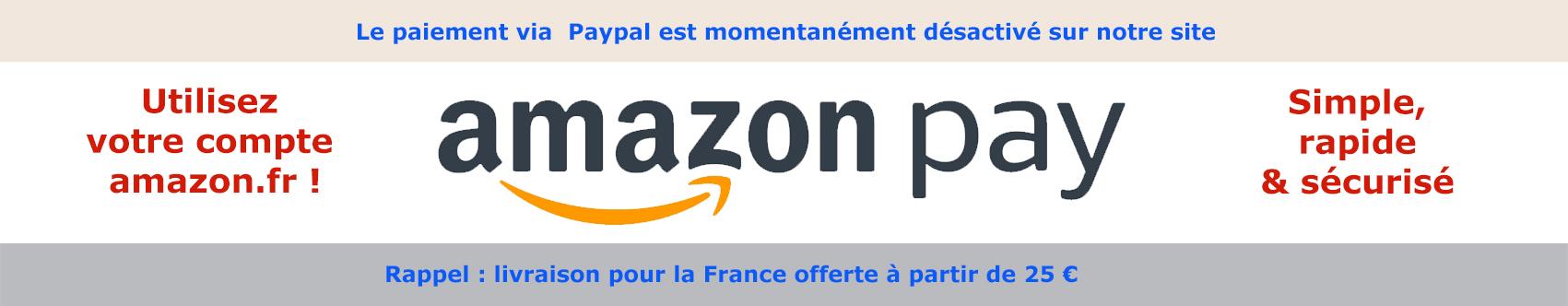 Payez avec Amazon Pay !