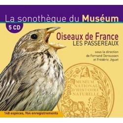 Oiseaux de France, les passereaux (en 5 cd)