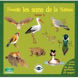 CD J'écoute les sons de la nature tome 2