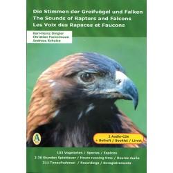 CD Les voix des rapaces et faucons (2 CD)