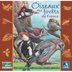 CD Oiseaux des forêts de France (2 CD)