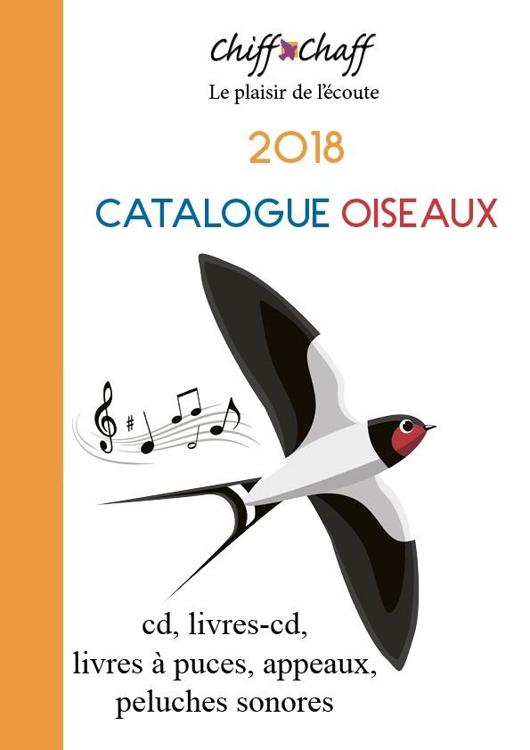 """Catalogue """"Oiseaux"""" 2018 (à feuilleter en ligne)"""