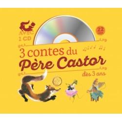 3 contes du Père Castor (livre + cd)
