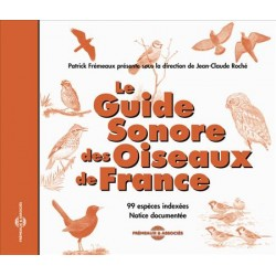 CD SOUND GUIDE OF THE BIRDS OF FRANCE