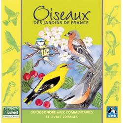 """Offre découverte : CD """"Oiseaux des Jardins de France"""" + FLASH'NATURE"""