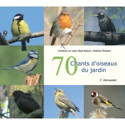 70 chants d'oiseaux du jardin (CD audio sans commentaires et Qrcode images)