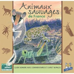 CD Animaux sauvages de France