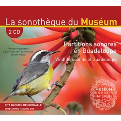 PARTITIONS SONORES EN GUADELOUPE (2 CD + livret 24 pages bilingue)