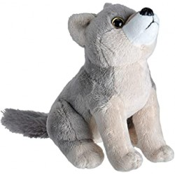 Peluche sonore Loup