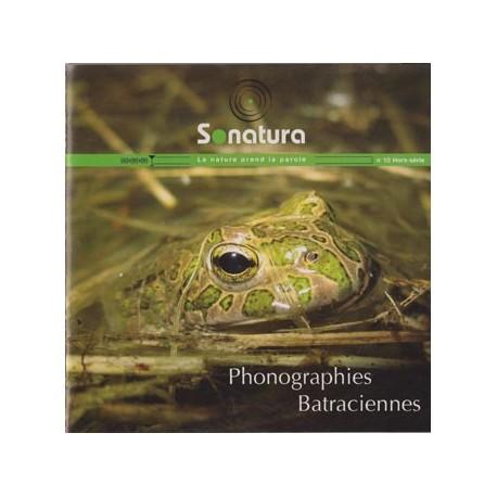"REVUE SONATURA N°10 (HORS-SERIE) : ""Phonographies batraciennes"" (CD AUDIO)"