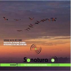 REVUE SONATURA N°16 : Du Togo à la Finlande en passant par le Québec ou les Galapagos…(CD AUDIO)