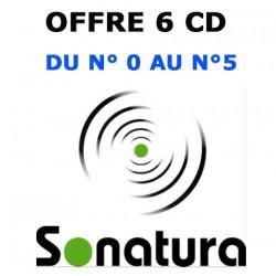 LOT 6 CD (N°0 à 5) SONATURA, la Revue qui donne la parole à la nature ! )