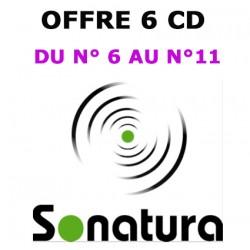 LOT 6 CD (N°6 à 11) SONATURA, la Revue qui donne la parole à la nature ! )