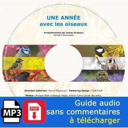 Une année avec les oiseaux (CD MP3 + PDF à télécharger)