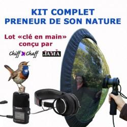 KIT COMPLET POUR PRENEUR DE SON NATURE CHIFF-CHAFF/JAMA