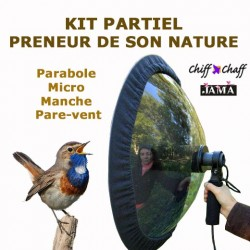 Partial kit for audio naturalists