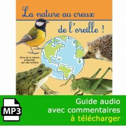 La nature au creux de l'oreille (CD MP3 sans PDF)