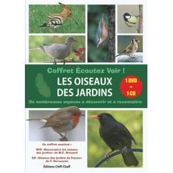 Ecoutez voir ! Les oiseaux des jardins (1 DVD + 1 CD)
