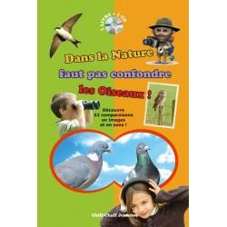 Dans la nature faut pas confondre les Oiseaux (livre-cd)