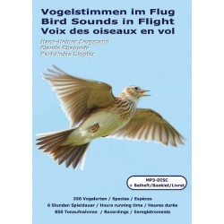 Bird Songs in Flight (2 MP3CD + booklet PDF 124 pages)