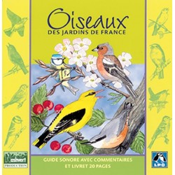 CD Birds of the gardens of France