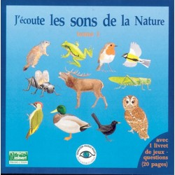 CD Listen to the sounds of the nature tome 1