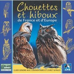 CD Chouettes et hiboux de France et d'Europe