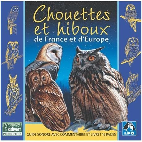 CD Chouettes et hiboux de France