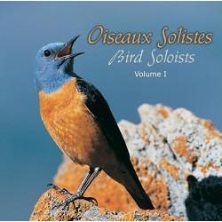 CD Oiseaux solistes vol.1 (boîtier cristal)