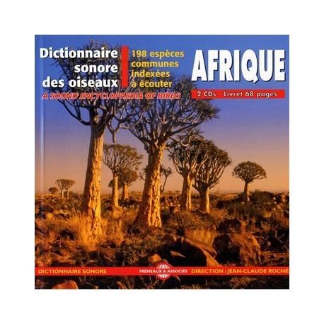 CD Dictionnaire sonore : Oiseaux d'Afrique (2 CD)