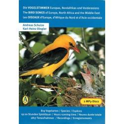 Box Birds of Europe  (2 CD MP3)
