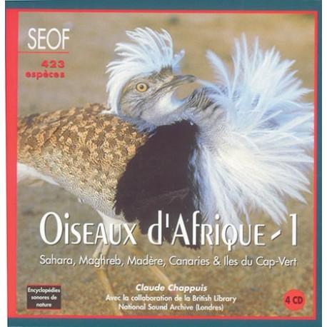 Coffret 4 CD Oiseaux d'Afrique Vol.1