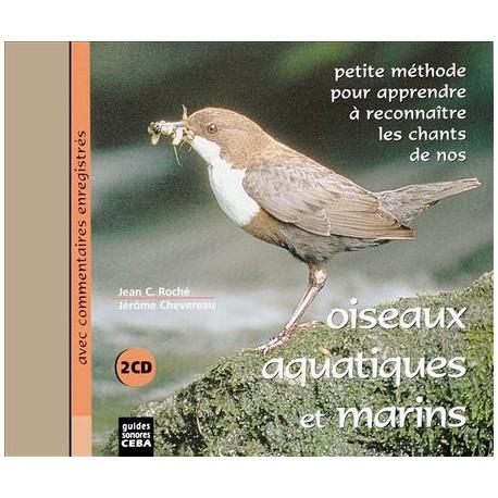 Double CD Oiseaux aquatiques et marins (2 CD)